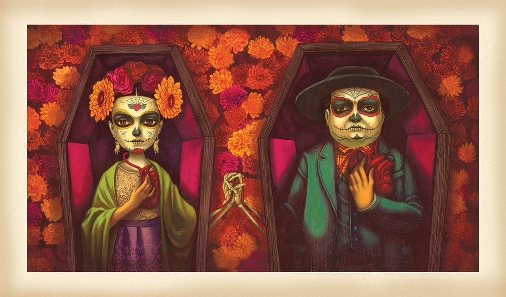 Frida et Diego by Lacombe