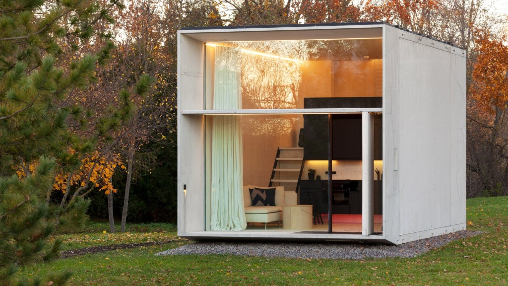 KODA by Kodasema, pre-fab mini house, Tallin (Estonia), 2015
